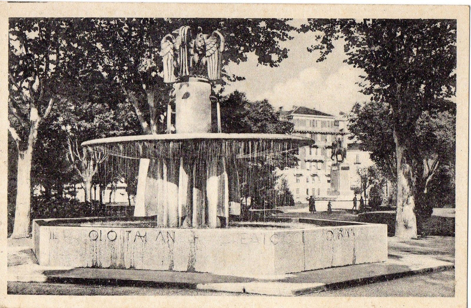 ALESSANDRIA – Giardini Pubblici e Fontana Impero