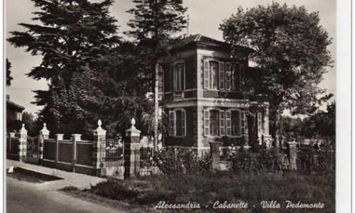 ALESSANDRIA – CABANETTE – VILLA PEDEMONTE