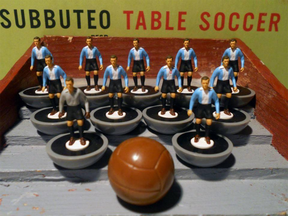 ALESSANDRIA -Forza e Coraggio 1912-13 nel mitico gioco del Subbuteo