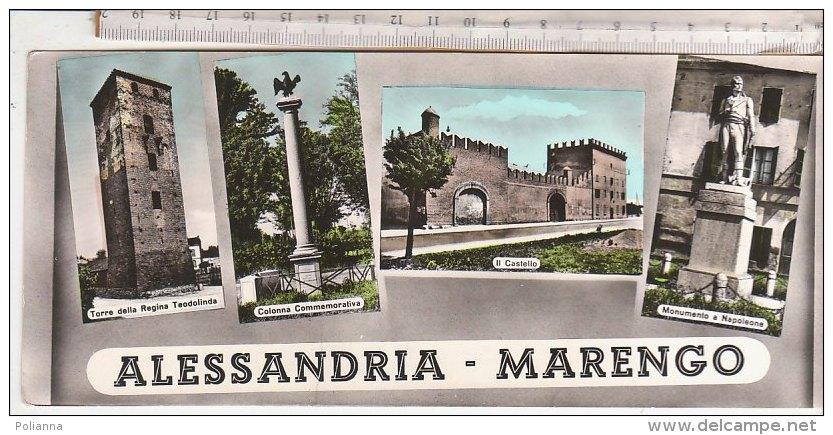 ALESSANDRIA - MARENGO - TORRE REGINA TEODOLINDA - MONUMENTO A NAPOLEONE - CASTELLO