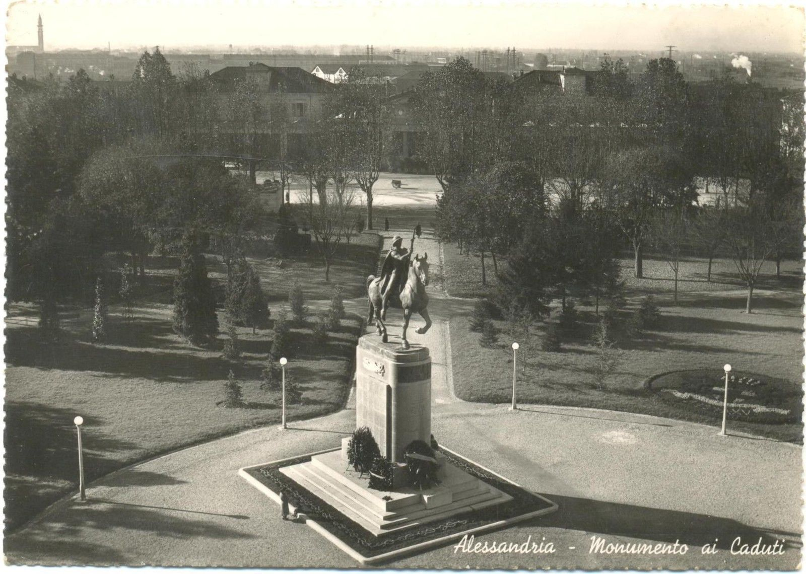 ALESSANDRIA - MONUMENTO AI CADUTI 1940