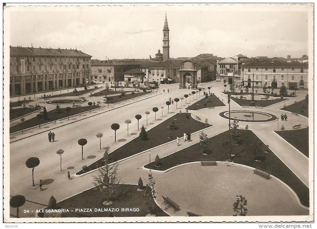 ALESSANDRIA - PIAZZA DALMAZIO BIRAGO (Piazza Genova) - 1940