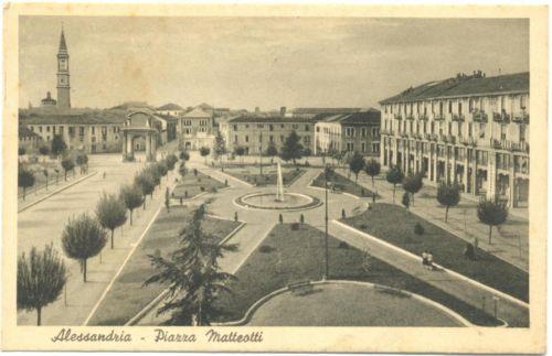 ALESSANDRIA - PIAZZA MATTEOTTI 1951