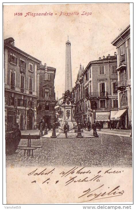 ALESSANDRIA - PIAZZETTA DELLA LEGA 1904