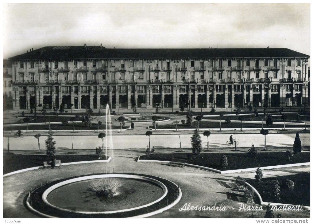 ALESSANDRIA - PIEMONTE - ITALIA - CARTOLINE 1949.