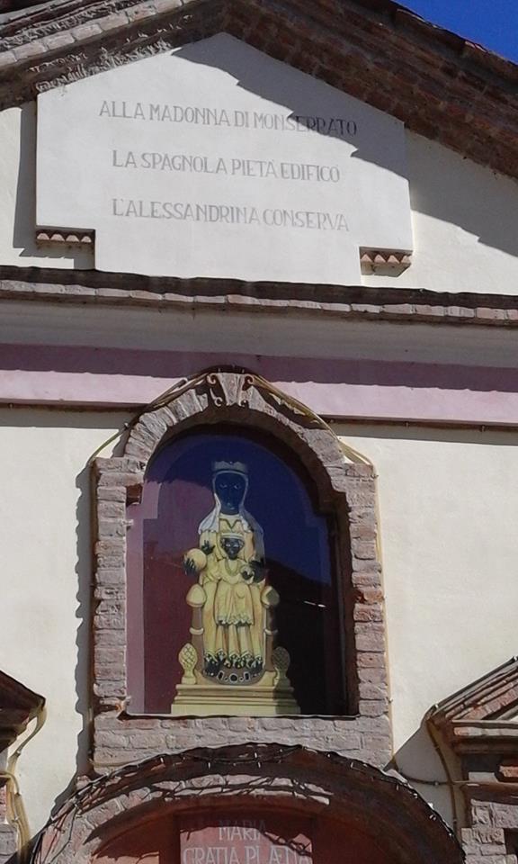 Alessandria, Chiesetta della Madonna del Monserrato (1625) - foto Rossella Perfumo.4