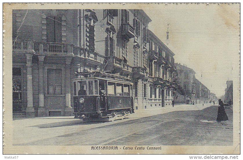 Alessandria - Corso Cento Cannoni