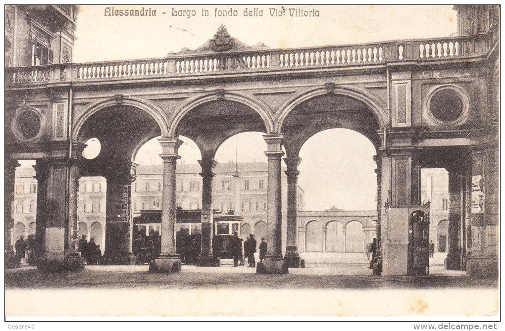 Alessandria - Largo di via vittoria 1915