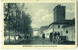 Alessandria - Lo Stabilimento Borsalino - 1910-'15 circa