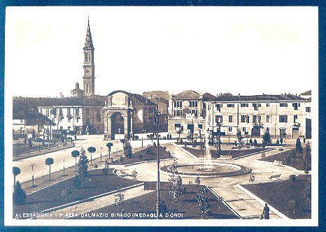 Alessandria - Piazza Dalmazio Birago - 1938