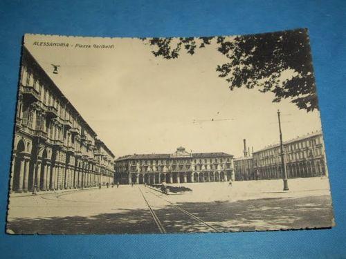 Alessandria - Piazza Garibaldi 1944