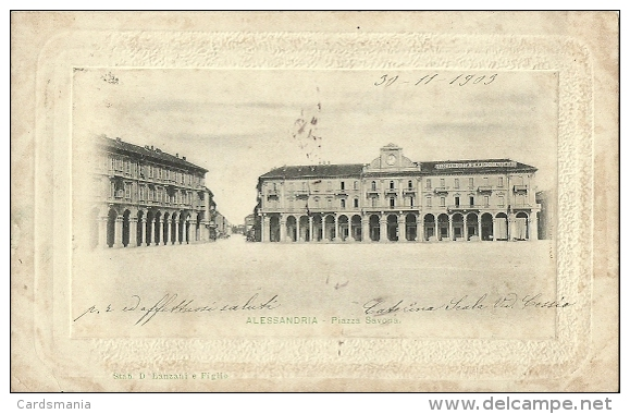 Alessandria - Piazza Savona 1903