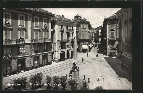 Alessandria, Piazzetta della Lega