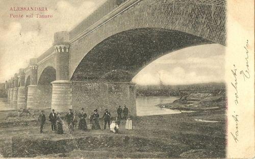 1900 - Alessandria - Ponte sul Tanaro