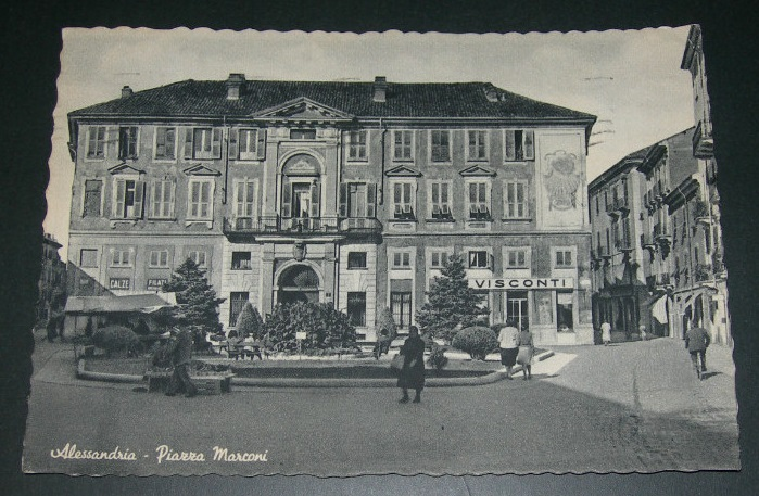 Piazza Marconi - 1954