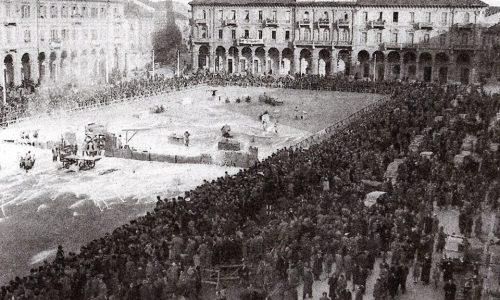 Il Carnevale in Alessandria e la Battaglia del Borotalco