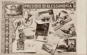 Cartolina - Presidio di Alessandria