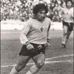 I giocatori dell'Alessandria calcio: Franco (Ciccio) Marescalco