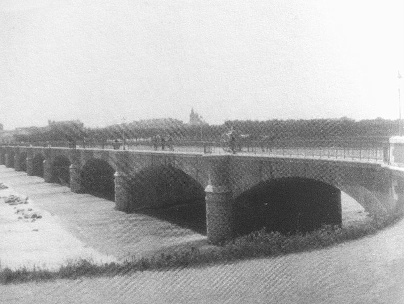 """Il """"nuovo"""" ponte inaugurato nel 1891."""