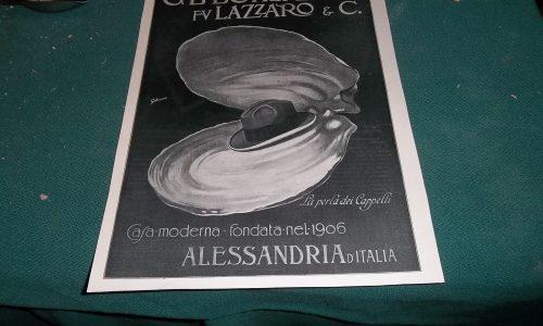 Pubblicità Borsalino 1924