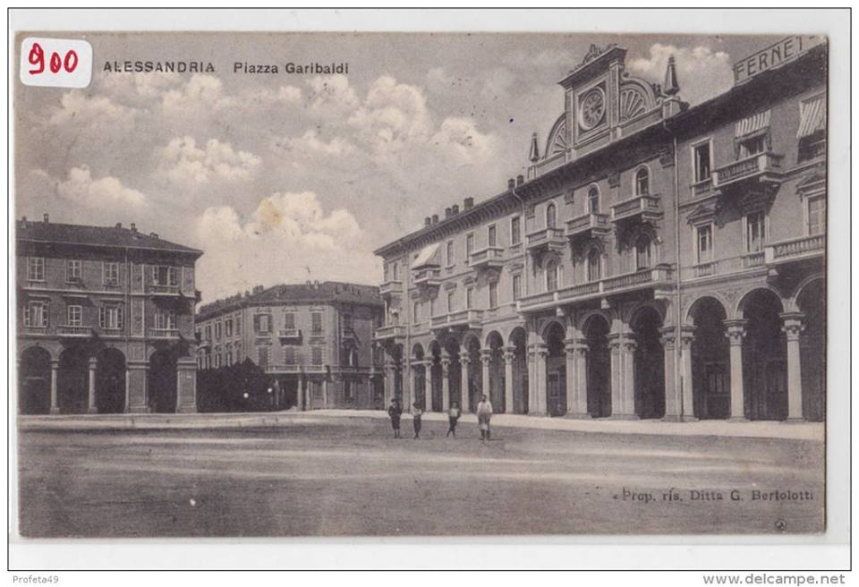 Piazza Garibaldi - 1910