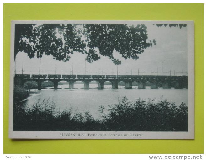 Ponte della ferrovia sul Tanaro