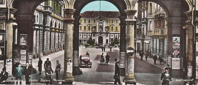 Portici di Piazza Marconi