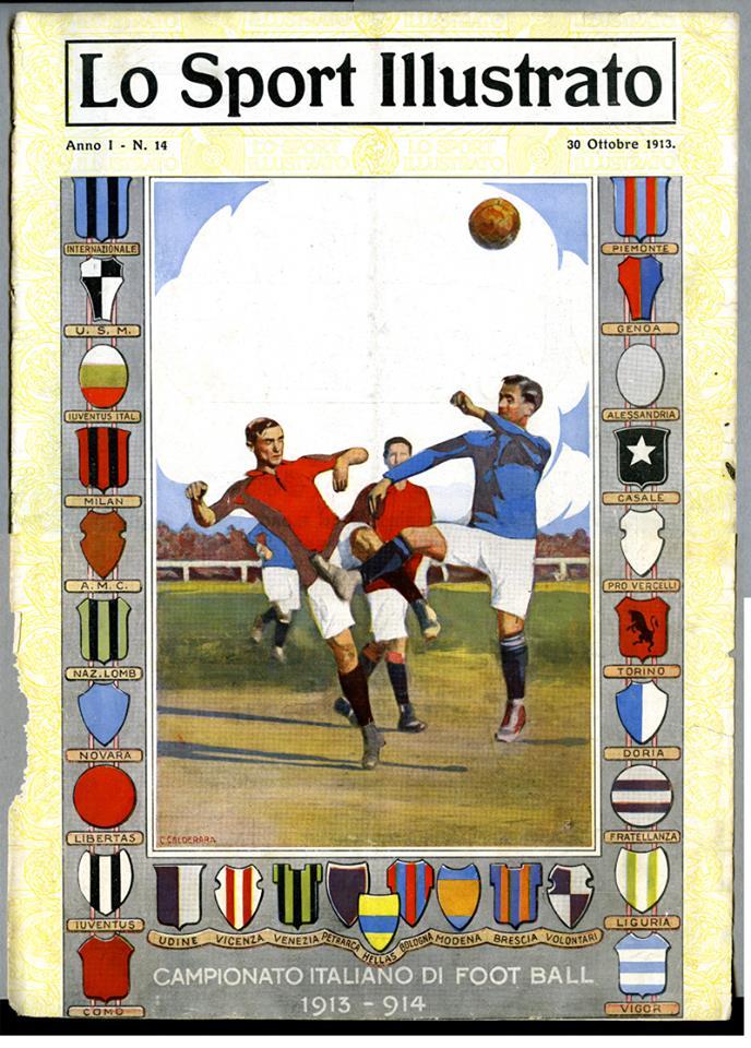 U.S. Alessandria 1913-14 - I Grigi giocano per la prima volta in Prima Categoria (attuale serie A).