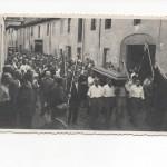 VIA MILAZZO.. anni 50… funerale di un comandante partigiano