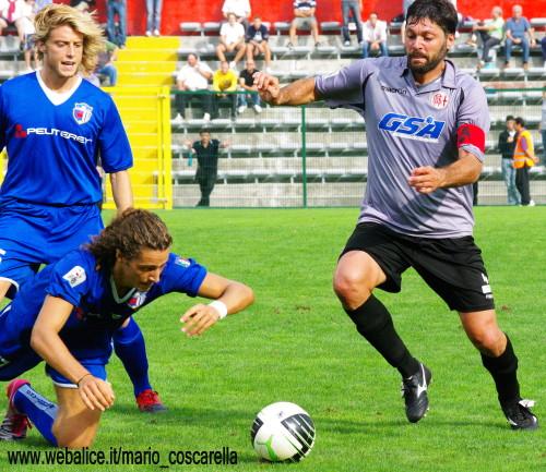 Alessandria  - Borgo a Buggiano 1- 4 - 2011-012 Artico.