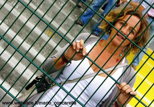 Alessandria  - Borgo a Buggiano 1 - 4 - 2011- Il presidente Paola Debernardi.
