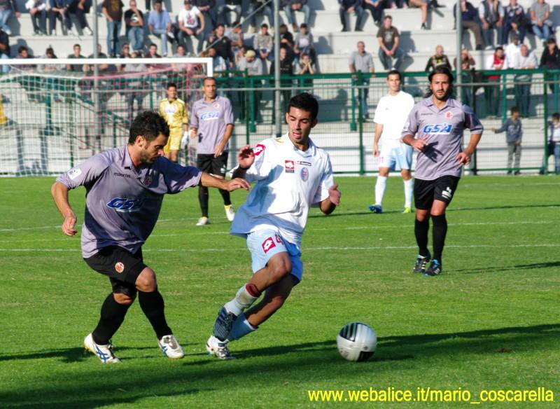 Alessandria - Treviso 1 - 4 - 16-10-2011 Marco Martini.