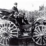 1900 – L'industriale Savio a bordo della sua Daimler