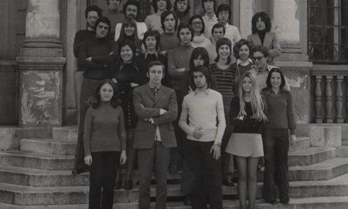 foto di classe Liceo Plana 1971-72