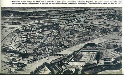 Alessandria 1859 (veduta)