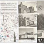 Brochure illustrata ALESSANDRIA – MARENGO – anni '60.