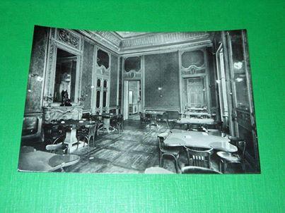 Cartolina Alessandria - Società del Casino - Sala Rossa 1950 ca.