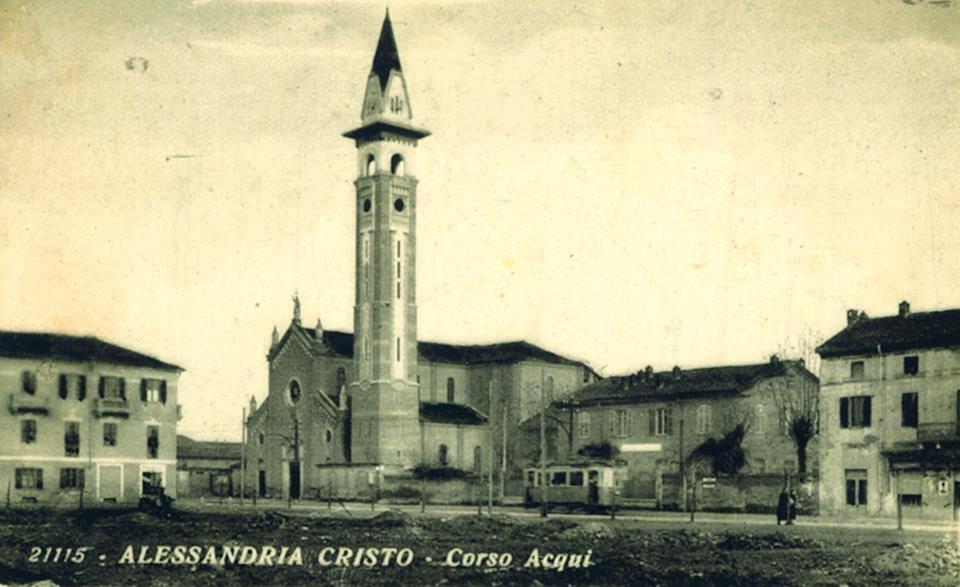 Corso Acqui - 1935 foto di Ugo Boccassi.