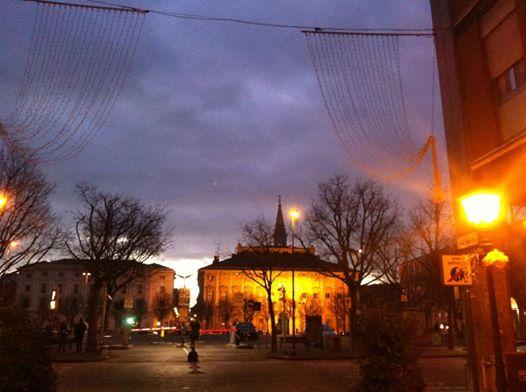 Piazza della Libertà da via dei Martiri