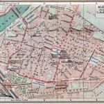 Mappe della città – 1900-1930