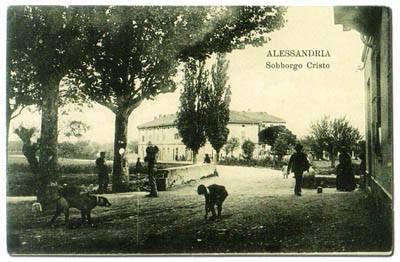 (Sobborgo Cristo) Via Tivoli ang.Via M.Maggioli – 1914