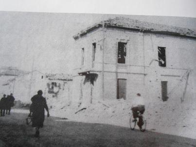 Corso Acqui bombardato durante l'ultima guerra