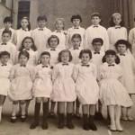 """1965 – Scuola """"E. De Amicis"""" – II elementare"""