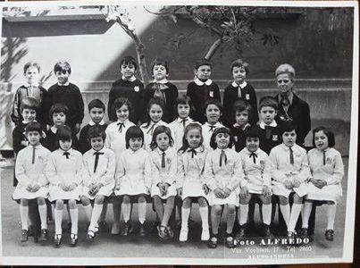 1972 – Scuola Galileo Galilei – I elementare