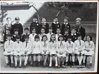 Anno scolastico '72-'73 Scuola Galileo Galilei - 1^ elementare...maestra Vanda D'Angelo