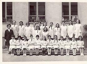 """Scuola """"E. De Amicis"""" - Anno scolastico 1970-71 - IV elementare - Maestra Carla Fara"""