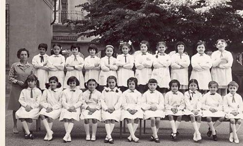 """1968 – Scuola """"E. De Amicis"""" – II elementare"""