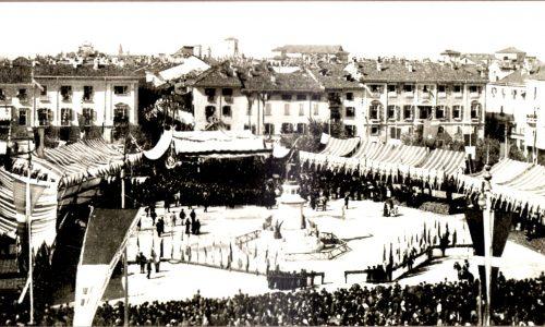 Inaugurazione monumento Urbano Rattazzi