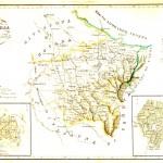 Divisione militare di Alessandria. Province di Tortona e Voghera. Litografia di P.Manzoni, 1842