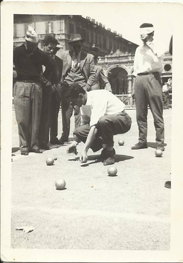 bocce 1957